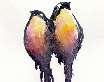 love birds- Print