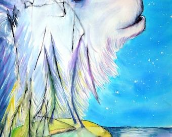 The Moon Bear - Toddler Collaboration | 8 x 10 ART PRINT