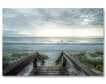 Jeckyl island Sunrise photo | beach photography | beach decor | Georgia beach photo | path to beach photo / east coast beach photo / sunrise