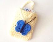 Crochet Bag PATTERN, Instant Download, PDF Crochet Pattern, Gift Card Bag Pattern, Pouch Pattern, Easy Crochet Pattern