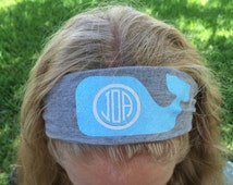 Fun Monogram Headbands
