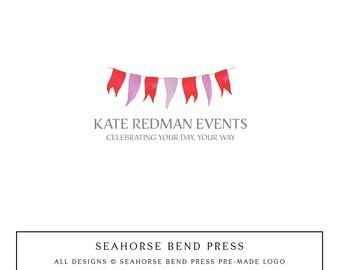 Logo Design, Pre-made Logo Identity, Small Business Branding, Wedding Logo and Branding, Kate Redman (105)