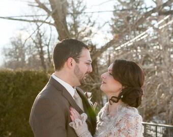 Bridal Gloves, Knit Gloves, Bridal Accessories, Bridesmaid Winter Gloves, Wedding  Gloves, Beige Gloves, White Gloves, Long Wedding Gloves