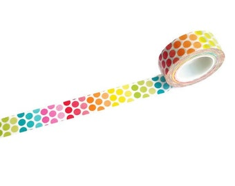 Colorful Dots Washi Tape