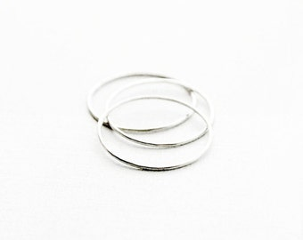 cheminee - silver rings / stacking rings / thin rings