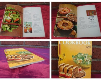 Vintage From Pillsbury the convenience cook book