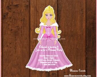 Sleeping princess invitations-12