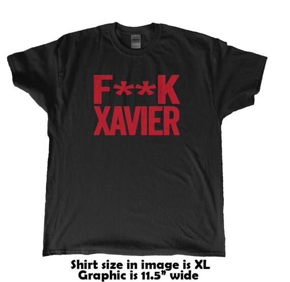 Fk xavier university of cincinnati bearcats fan by beefshirts for Custom t shirts cincinnati