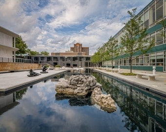 Reflecting Pool-Wayne State University
