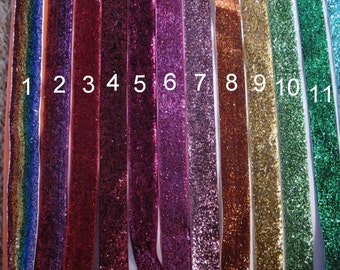 3 PACK No slip glitter headband - 24 colors to choose from!  They just don't slip!