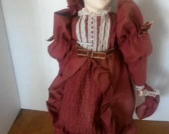 R+D Macdonald Yvonne Richardson  Anne of Green Gables Doll