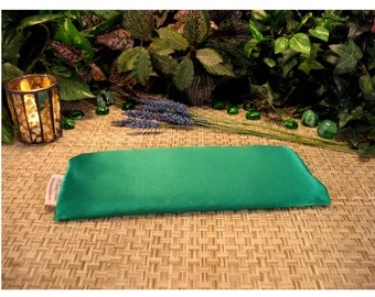 Organic, Herbal Eye Pillow. 15 Solid Colors. Relaxation. Home Spa. Yoga. Gift. Menopause Relief. Natural Relaxation Ice Pack