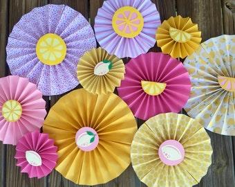 Pink Lemonade pinwheels