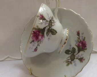 Beautiful footed tea cup
