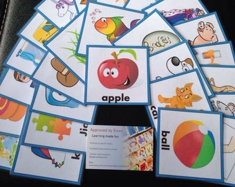 Personalised A-Z flashcards