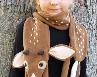 White-tailed Deer Fawn Scarf