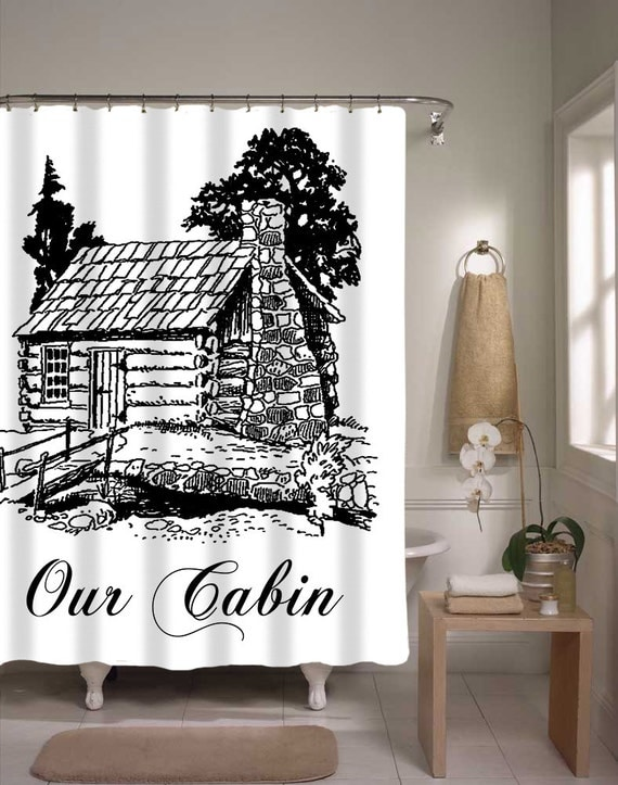 Shower Curtain For Cabin Our Cabin Home Decor Cute Shower