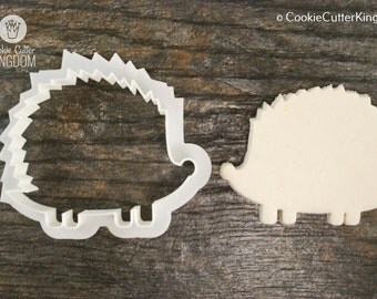 Porcupine Cookie Cutter, Mini and Standard Sizes, 3D Printed