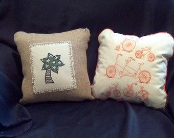 home decor pillows for spring and summer