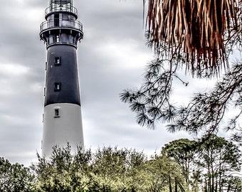 HUNTING ISLAND LIGHT lighthouse south carolina coast