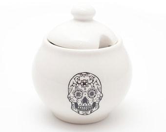Sugar Pot - Sugar Skull