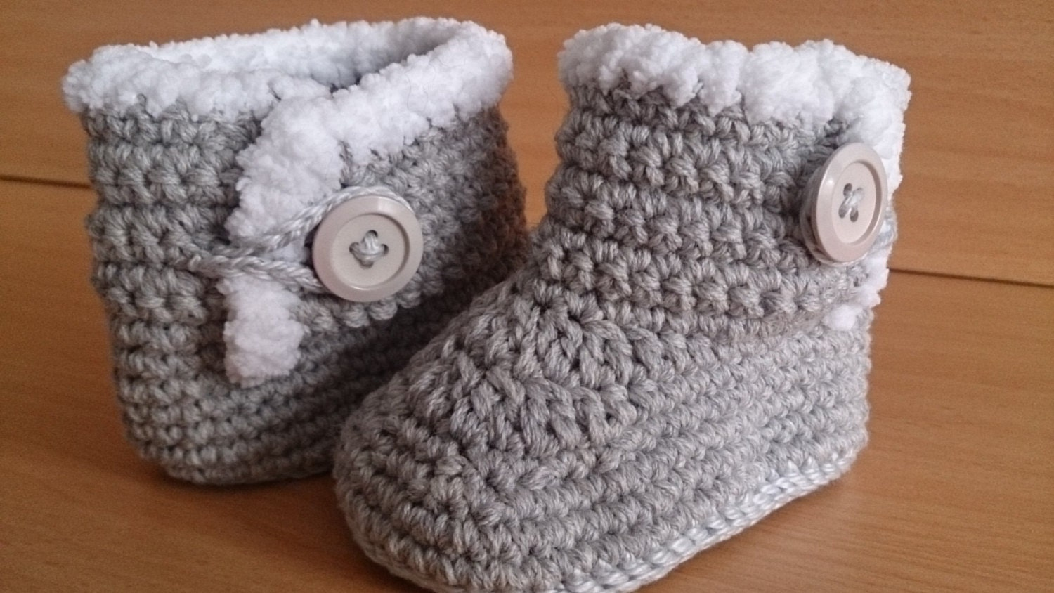 Baby Boots Crochet Baby Boots UGG Style Baby Boots 3-6