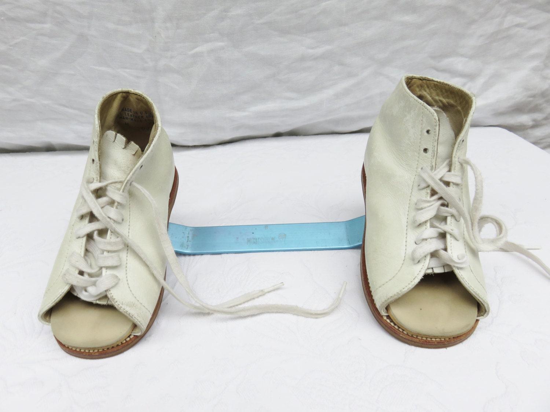 vintage corrective shoes club foot toddler braces medical. Black Bedroom Furniture Sets. Home Design Ideas