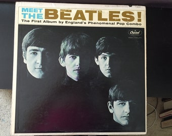 The Beatles - Meet the Beatles LP