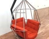 Rare Vintage Original Ib Arberg Parrot Chair Sweden Danish Modern Scandinavian Mid Century Eames