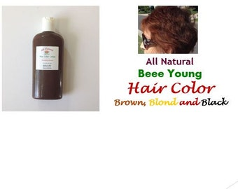 Hair Color Lotion Dark Brown, Brown, light Brown, Golden Blond, Blond,  Strawberry Brown,  Black.  4 oz.       Free US Shipping
