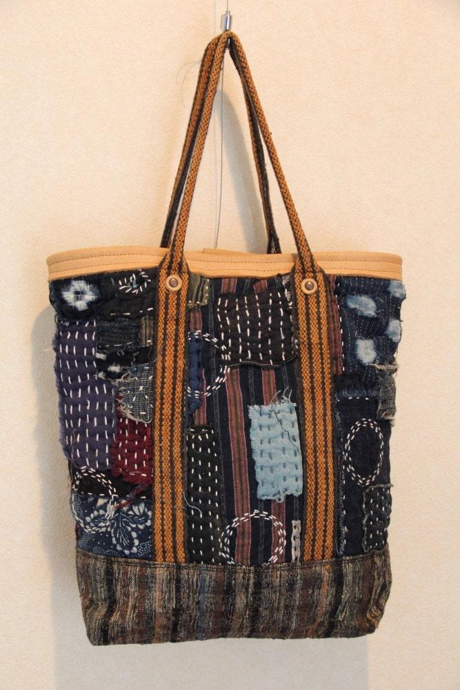 antique japanese boro bag