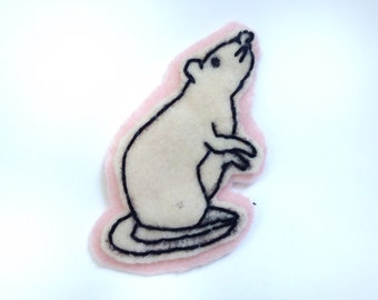 Felt Rat Patch!