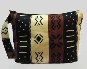 Zipper Pouch Wristlet | Cosmetic Bag | Multi-use African Print Purse