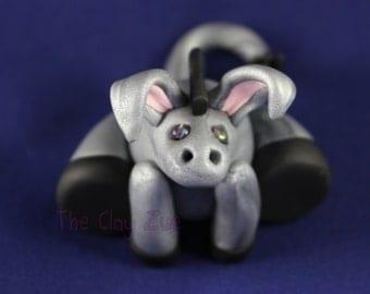 Donkey Polymer Clay Figure