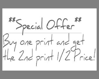 Kitchen Prints | Special Offer Pricing For 2 Prints | Buy One, Get The Second One Half Price! | Fine Art Giclée Prints |