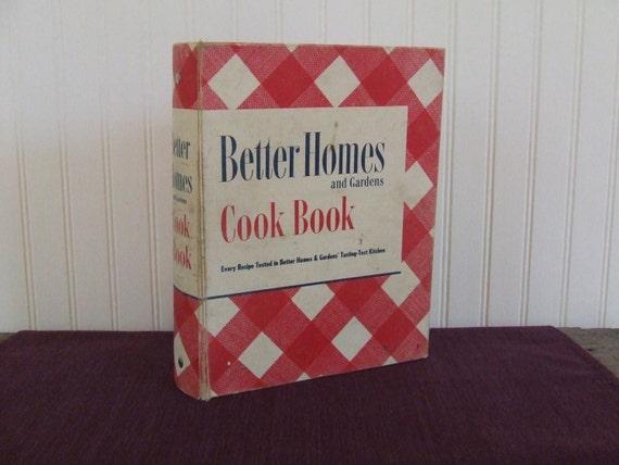Better homes and gardens cookbook vintage cookbook 1949 - Vintage better homes and gardens cookbook ...