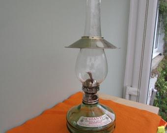 Oil Lamp Paraffin Lamp Vintage Lamp lantern, in need of repair