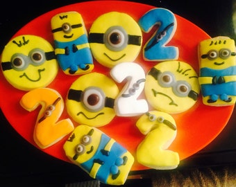 Minions party favors (12)