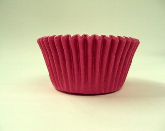32 Hot Pink Baking cups