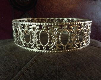 Gold filigree crown/circlet