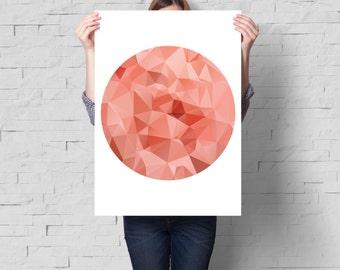 Minimalist art, Abstract print, Abstract wall art, Abstract art, Circle print, Modern art, Modern print, Minimalist print, Art print