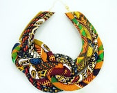 Multicolored African Jewelry  - African Jewelries - African Necklace - Black History Month