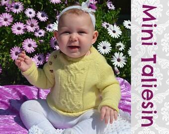 Mini Taliesin Baby Sweater Knitting Pattern