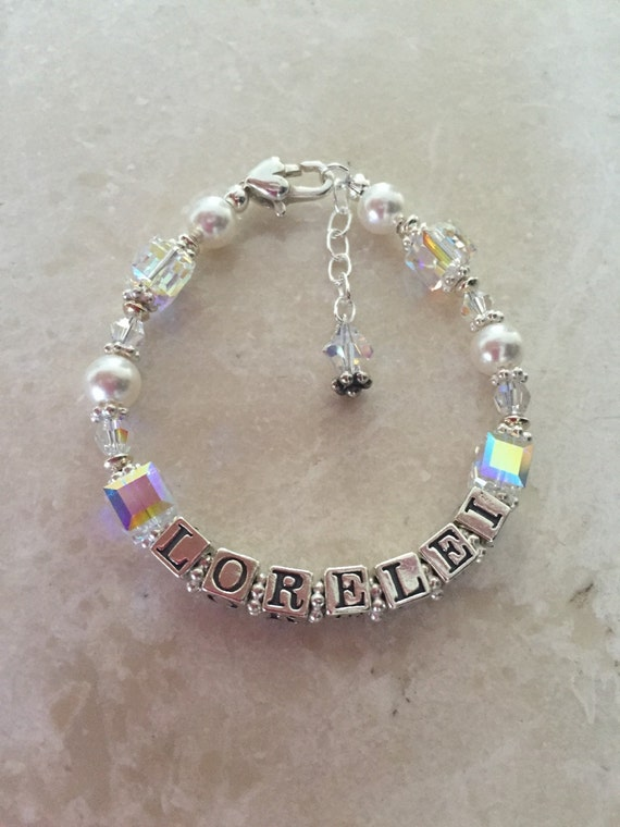Alluring Personalized Bracelets for girls in all sterling ...   Personalized Baby Jewelry For Girls
