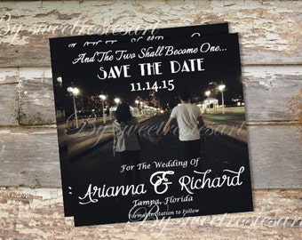 Personalized Save the Date/ photo