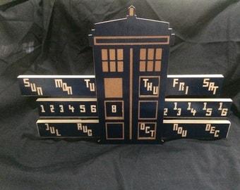 TARDIS Perpetual Calendar