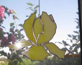 Stained glass suncatchers  Iris