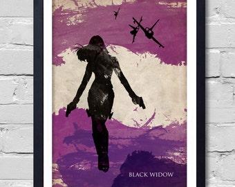 Avengers Black Widow Poster