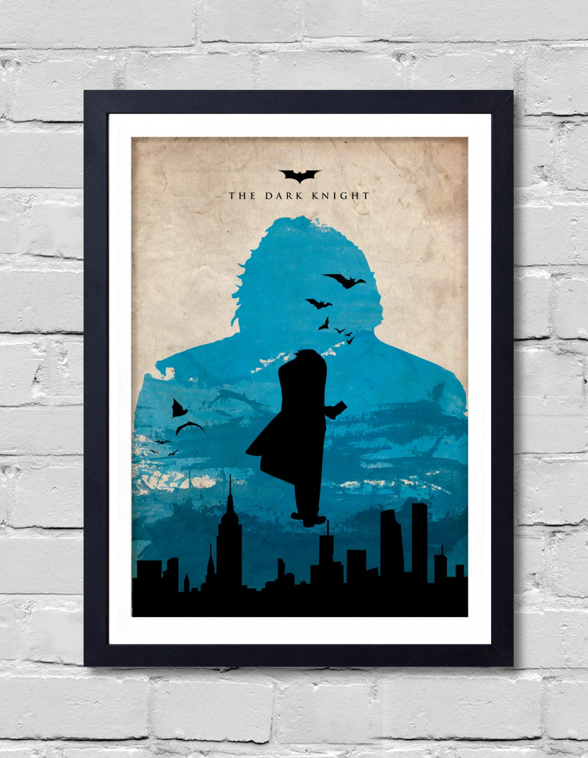 Batman dark knight poster home decor wall decor art poster for Dark knight mural