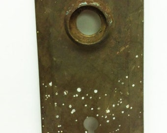 Vintage Brass Door Plate